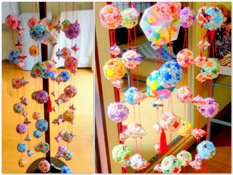 すべての折り紙 折り紙 飾り : やっこちゃんのつぶやき: 2012年 ...